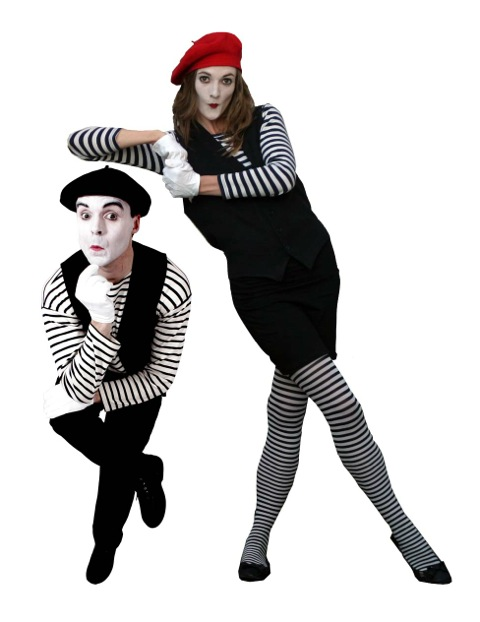 mime artists for hire mime the gap